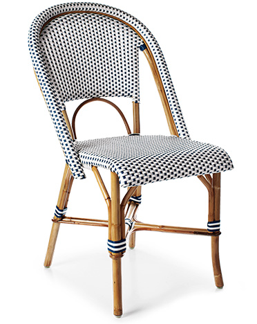 FRENCH BISTRO CHAIRS WITH A TWIST
