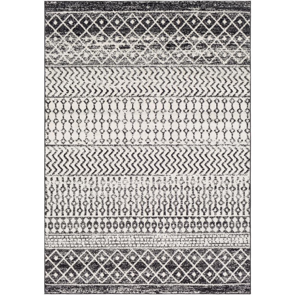 Artistic Weavers Laurine Black/White 8 ft. x 10 ft. Area Rug