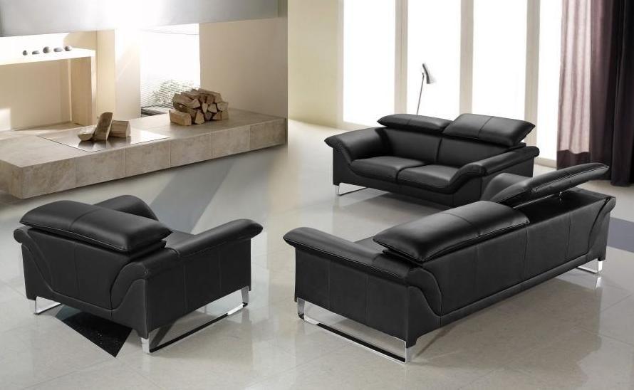 Genuine and Italian Leather, Modern Designer Sofas