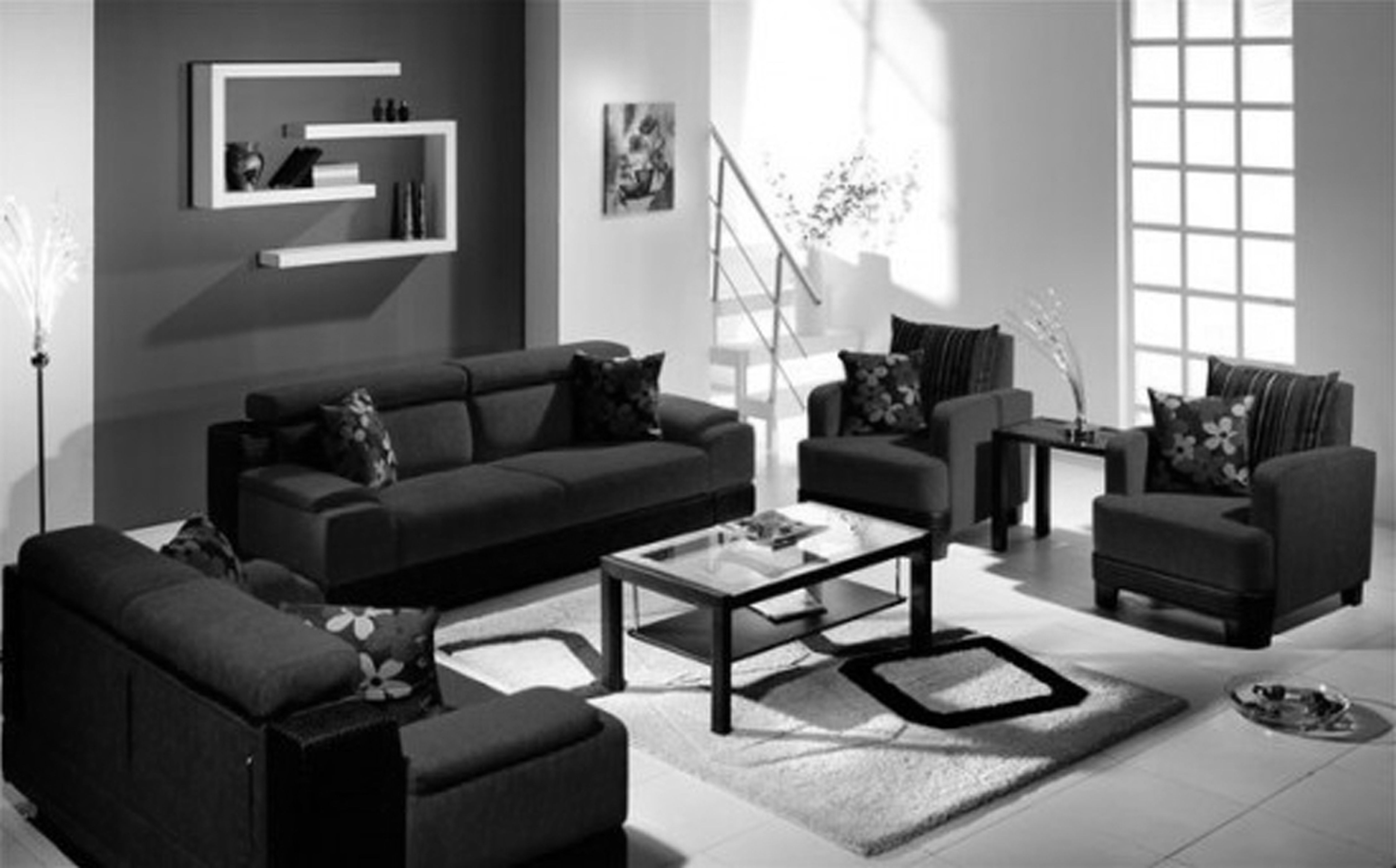 Beautiful Living Room Sets For HouseholdThe Awesome Webbeautiful Black  Living Room Furniture