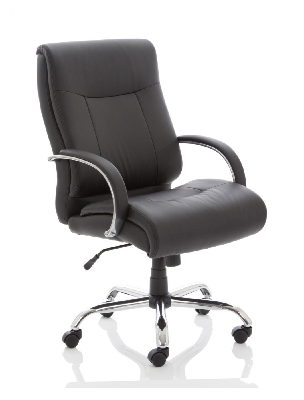 Office Chairs - Drayton HD Super Heavy Duty Executive Leather Office Chair  EX000191 - enlarged view