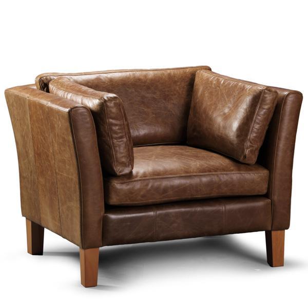 Barkby Leather Armchair | Modish Living
