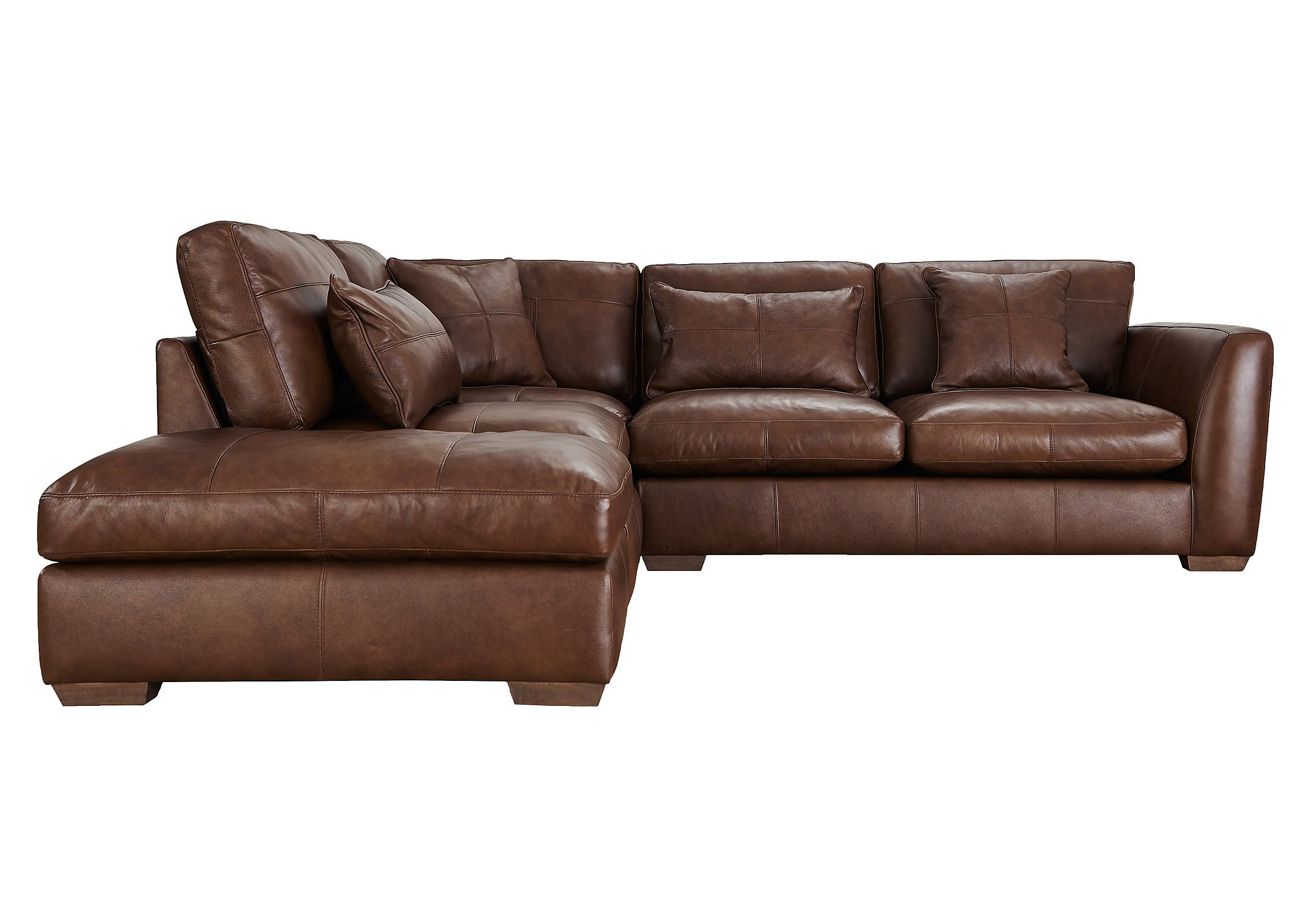 Small Brown Leather Corner Sofa Images