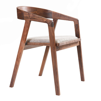 New Design European Style Wooden Cafe Chair With Cushion,Dining Room