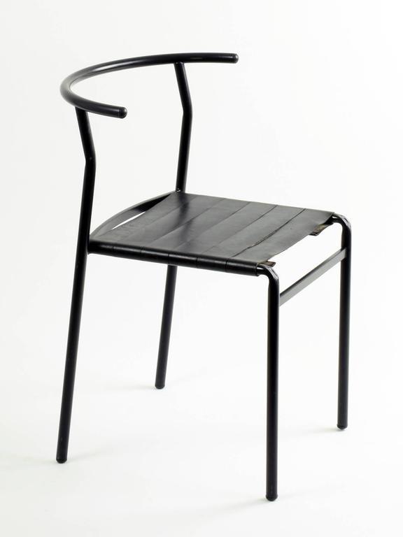 Philippe Starck Eight 'Café Chairs' for Baleri Italia, 1984, Café
