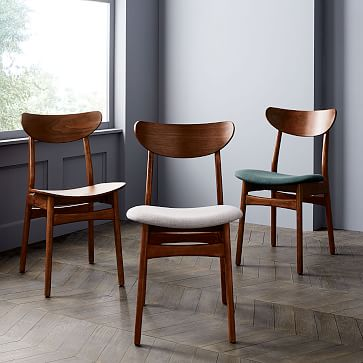 Classic Café Upholstered Dining Chair   west elm