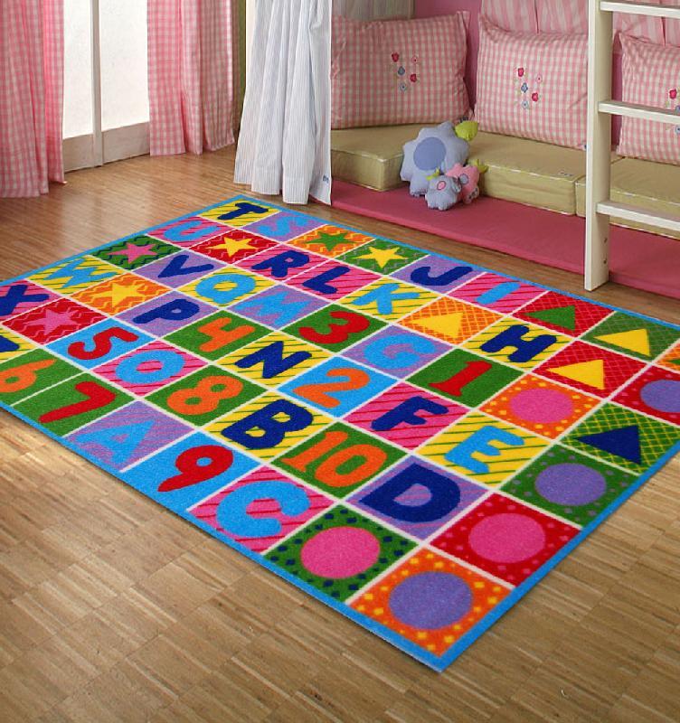 Image of Kids Room Rug Alphabet Carpet for Kids Room kids rugs ikea