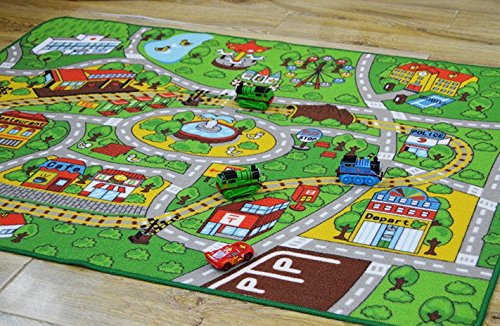 Toy Car Lover Popular Carpets Kids Room City Center Street Map Carpet for  Home Living Room Baby Bedside Carpet Baby Crawling Mat-in Carpet from Home