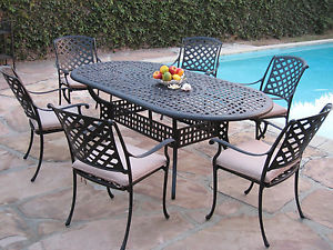Image is loading Kawaii-Collection-Outdoor-Cast-Aluminum-Patio-Furniture-7-