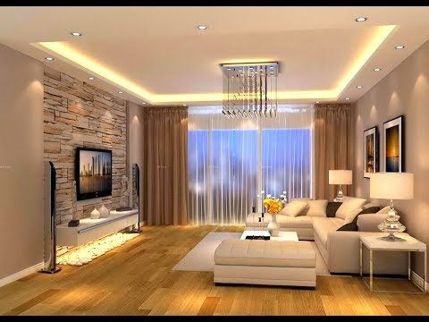 Luxurious Modern Living Room And Ceiling Designs Trend of 2018- Plan n  Design
