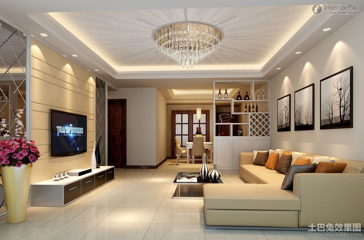 Ceiling design in living Room, shows more than enough about how to decorate  a room in sophisticated look. Living room is special place in ou…