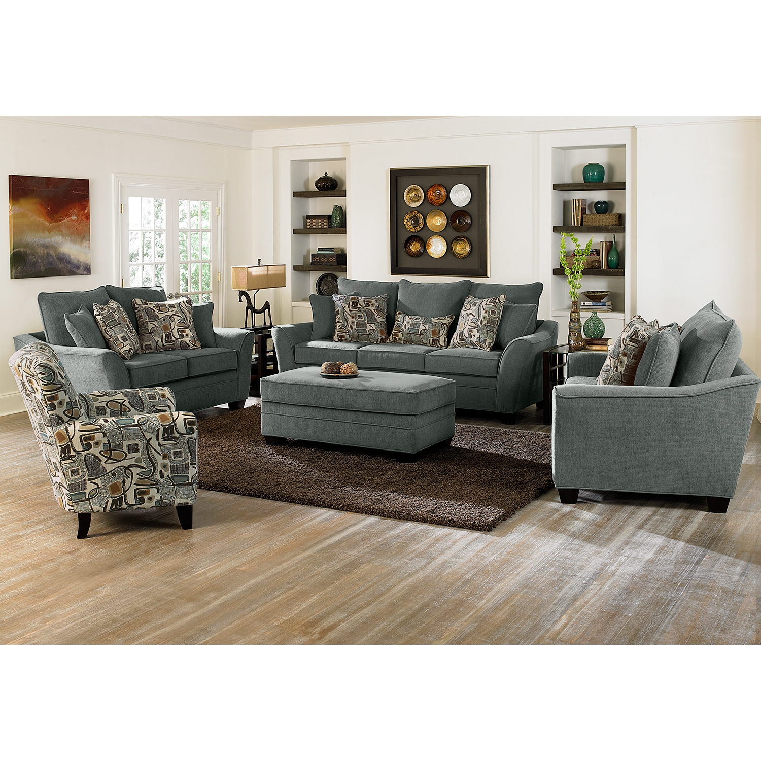 Small Accent Chair With Ottoman Perfect Chairs Ottomans For Living