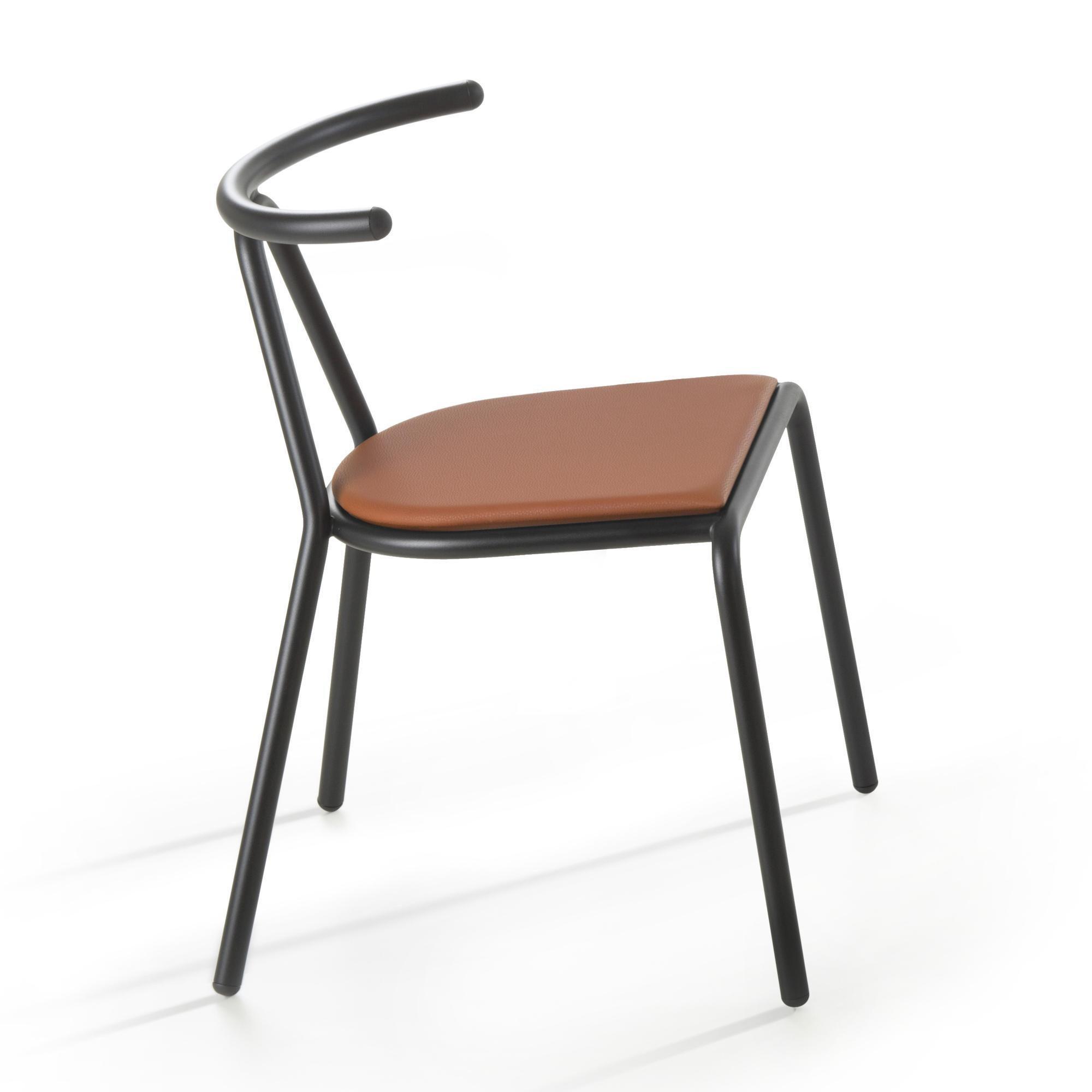 B-Line - Toro Chair seat Platinum Flukso - orange/seat: Platinum Flukso