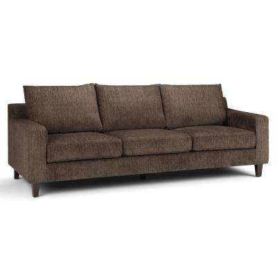 Marisa Contemporary 91 in. x 35 in. x 33 in. Sofa in Deep