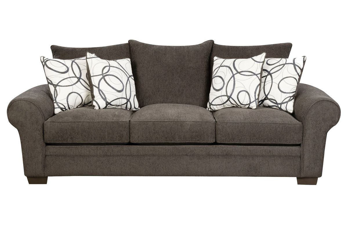 Othello Chenille Sofa from Gardner-White Furniture