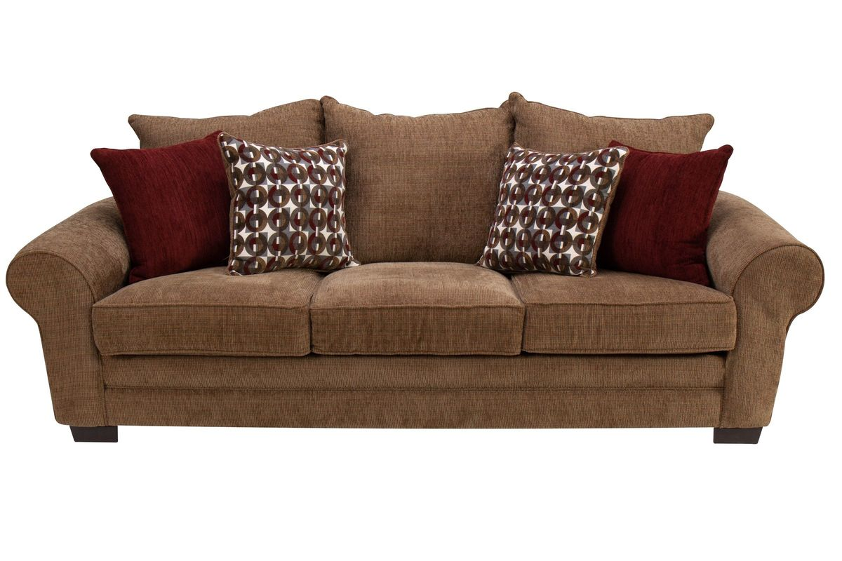 Resort Chenille Sofa from Gardner-White Furniture