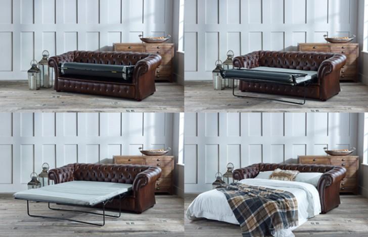 Pemberton Chesterfield Sofa Bed