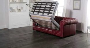 Chesterfield Sofa Bed from Sofas by Saxon