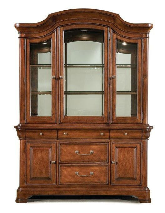 Legacy Classic Furniture China Hutch QL9180372 from Walter E. Smithe  Furniture + Design