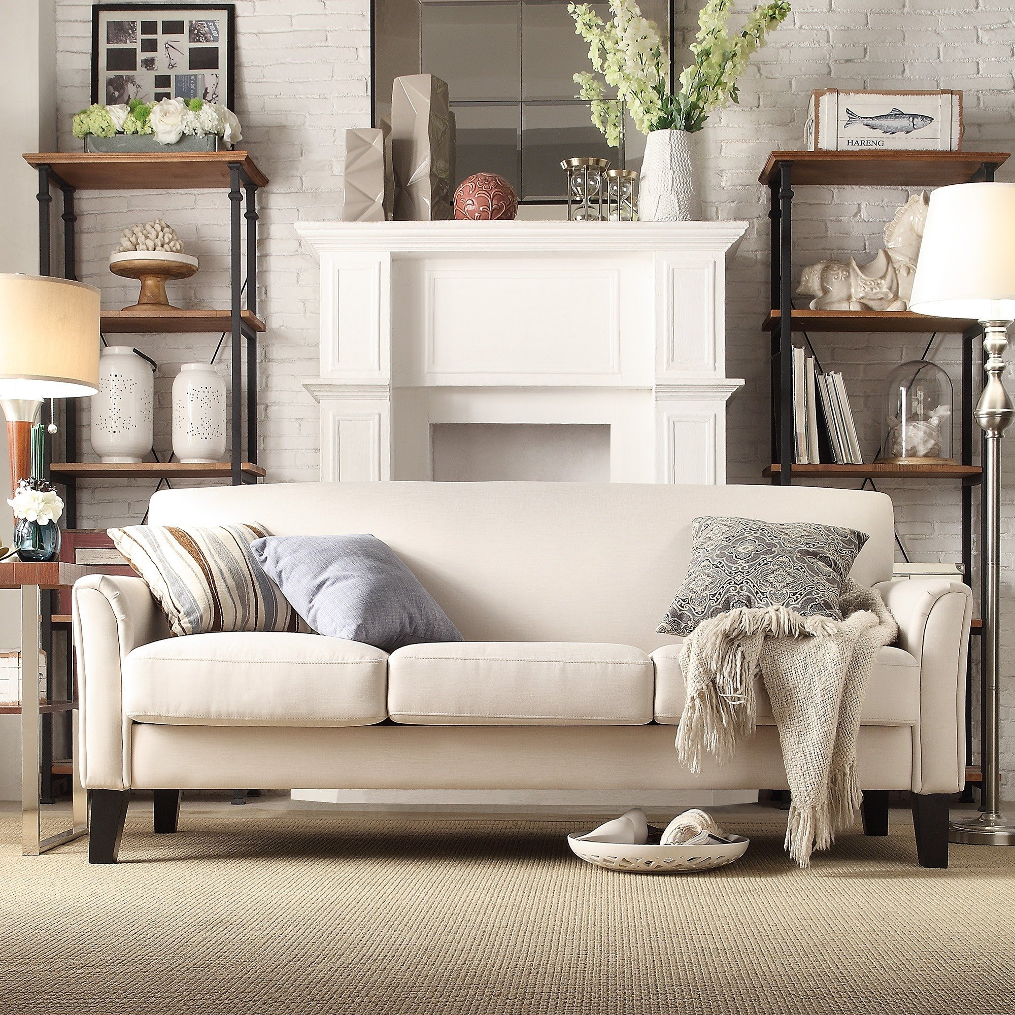 Uptown Modern Sofa by iNSPIRE Q Classic