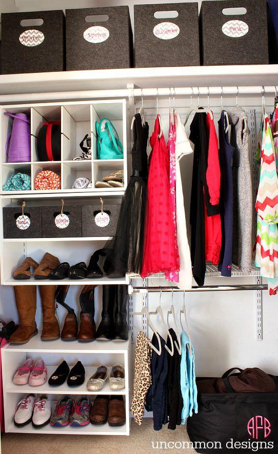 30 Closet Organization Ideas - Best DIY Closet Organizers