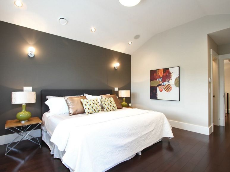 Charocal bedroom wall paint color