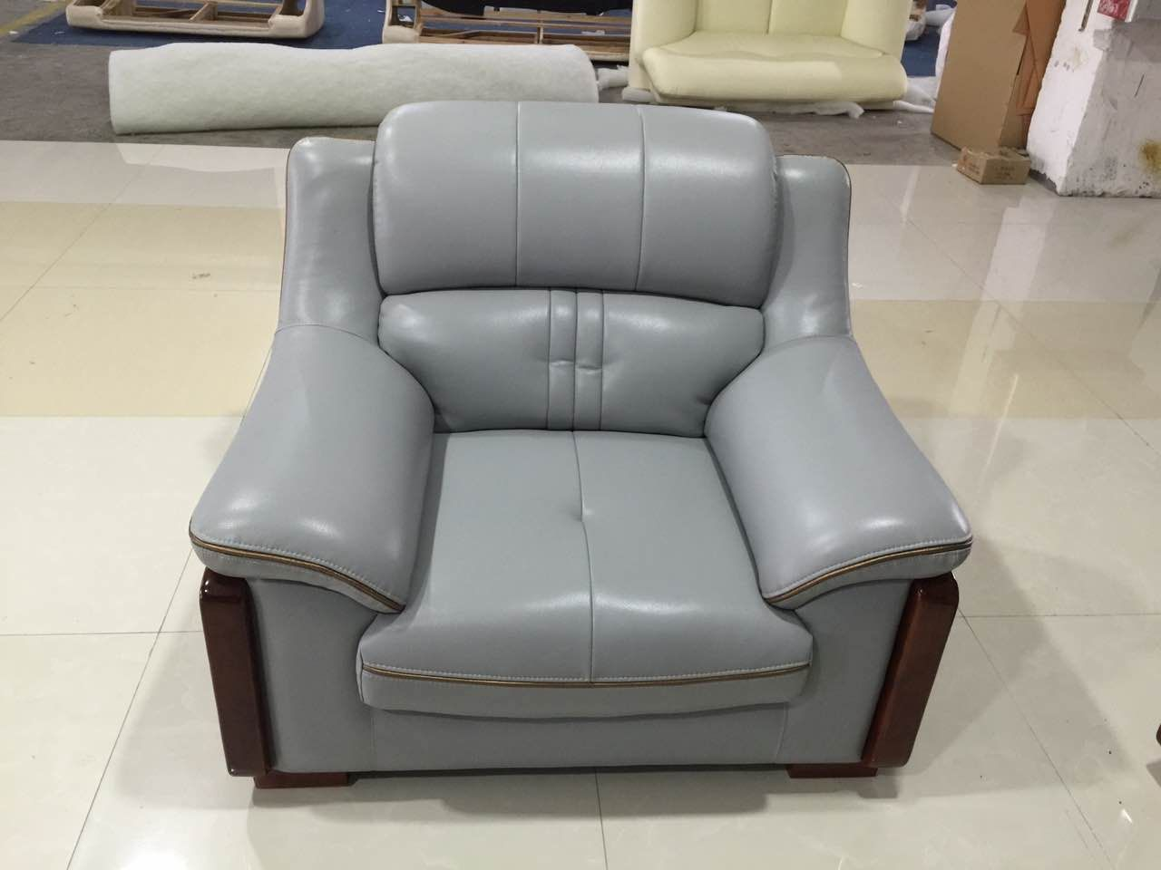 Good looking leather sofa comfortable one seater Comfortable Sofa, Sofa  Seats, Furniture Companies,