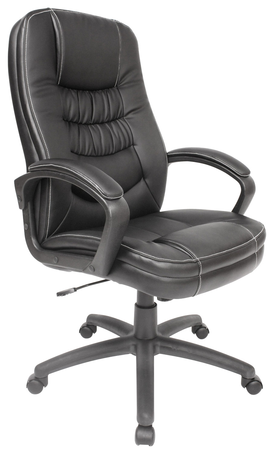 Comfort Products Inc. - Leather Executive Chair - Black - Larger Front