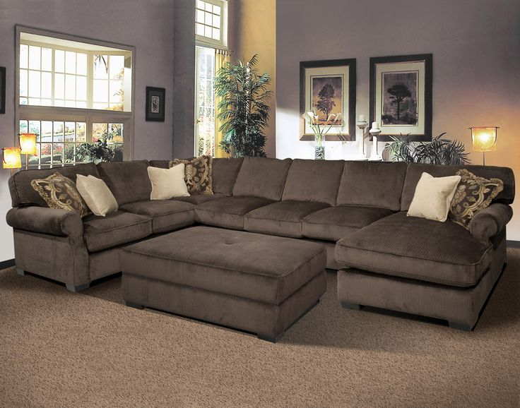 Awesome sectional sofas big and comfy grand island large, 7 seat sectional  sofa with right