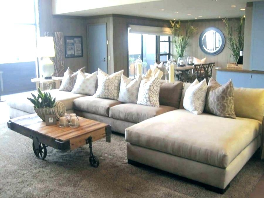 Wonderful Overstuffed Sectional Comfy Sectional Sofa Large Overstuffed