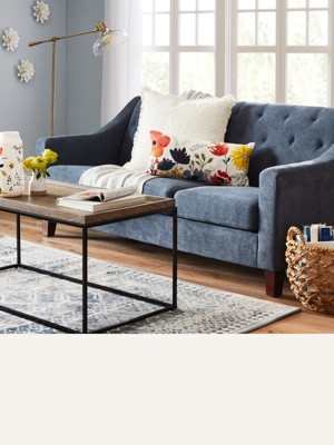 """76"""" sofas are great for small spaces, while sofas 89"""" & bigger can anchor a  larger room. Browse sofas"""