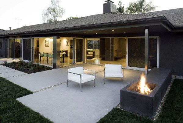 Simple Concrete Patio Ideas
