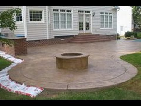 Concrete Patio Ideas Storiestrending Com