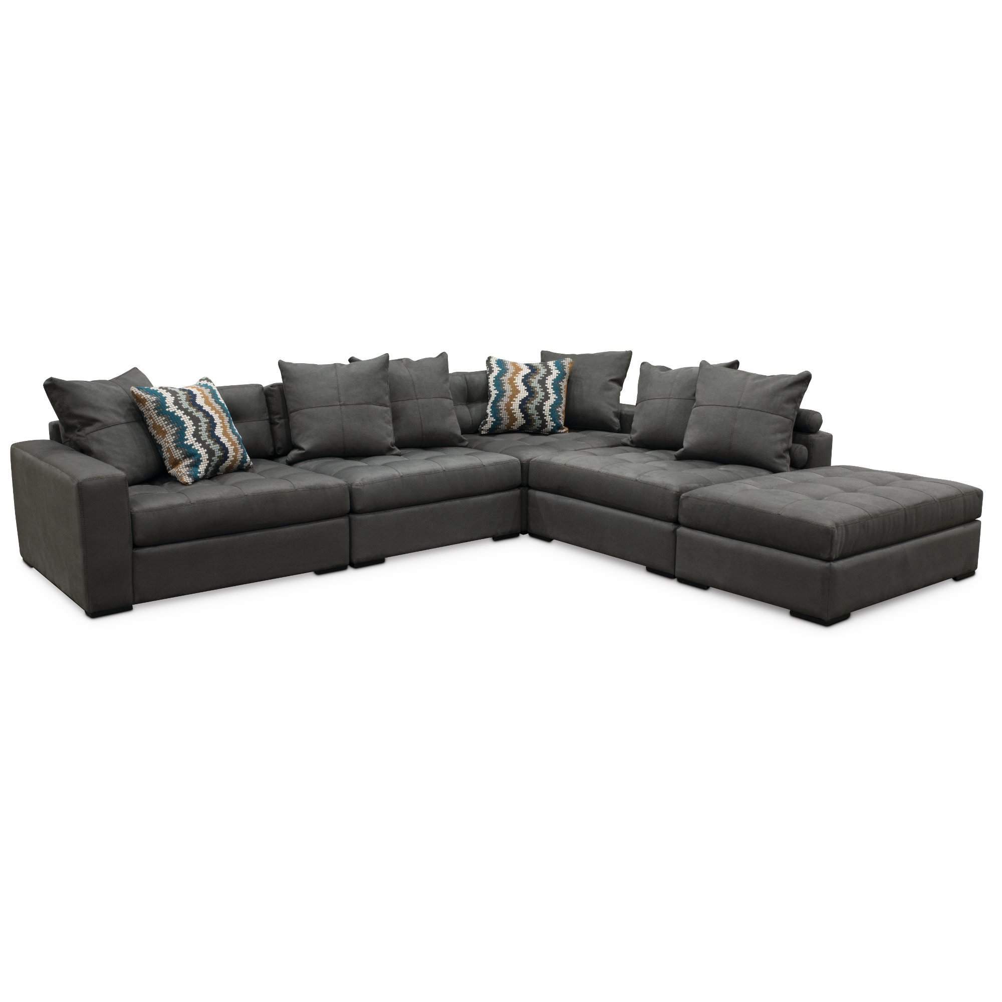 Contemporary 4-Piece Sectional Sofas