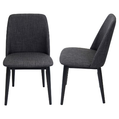 Set of 2 Tintori Mid-Century Modern Dining Chairs - LumiSource