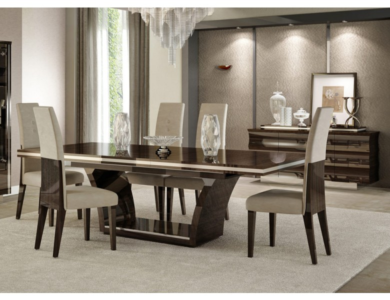 Giorgio Bell Italian Modern Dining Table Set