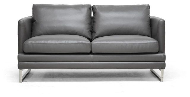cool Gray Leather Loveseat , Luxury Gray Leather Loveseat 90 In Sofas and  Couches Set with