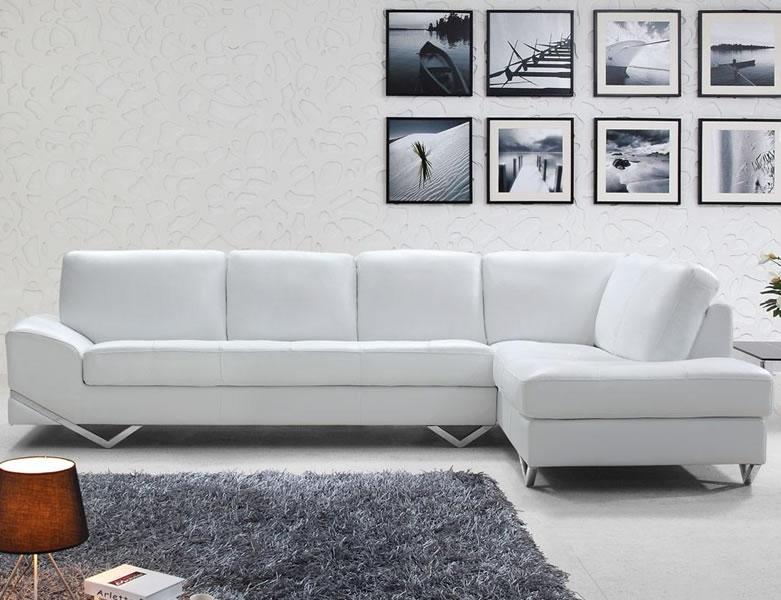 Cute Creative Of White Italian Leather Sofa Modern Italian Sectional