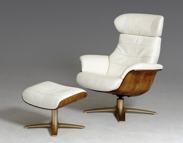 Contemporary Leather Swivel Recliners