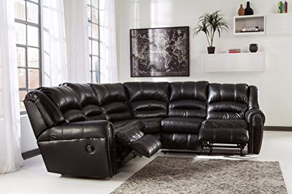 Amazon.com: Manzanola Contemporary Black Color Faux Leather