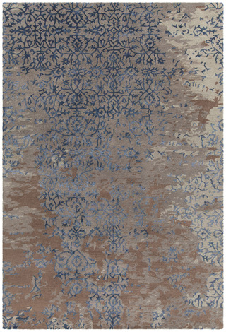 Chandra Rupec Patterned Rectangular Contemporary Area Rug - Grey
