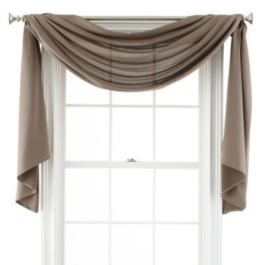 Scarf Curtains, Window Scarf, Window Drapes, Bedroom Windows, Window  Coverings, Sheer