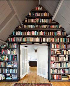 Book Shelves, Bookshelf Ideas, Cool Bookshelves, Custom Bookshelves,  Bookshelves In Bedroom,