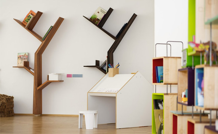 BookTree Bookshelf - Cool bookshelves