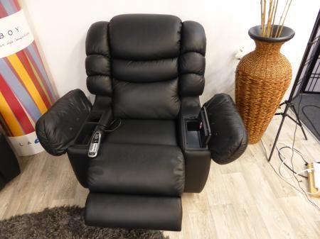 La-Z-Boy Cool Leather Recliner,Massage & built in fridge cooler chair