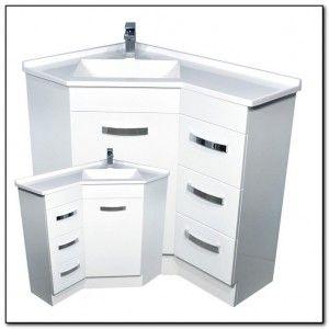 corner bathroom vanity with sink - Google Search