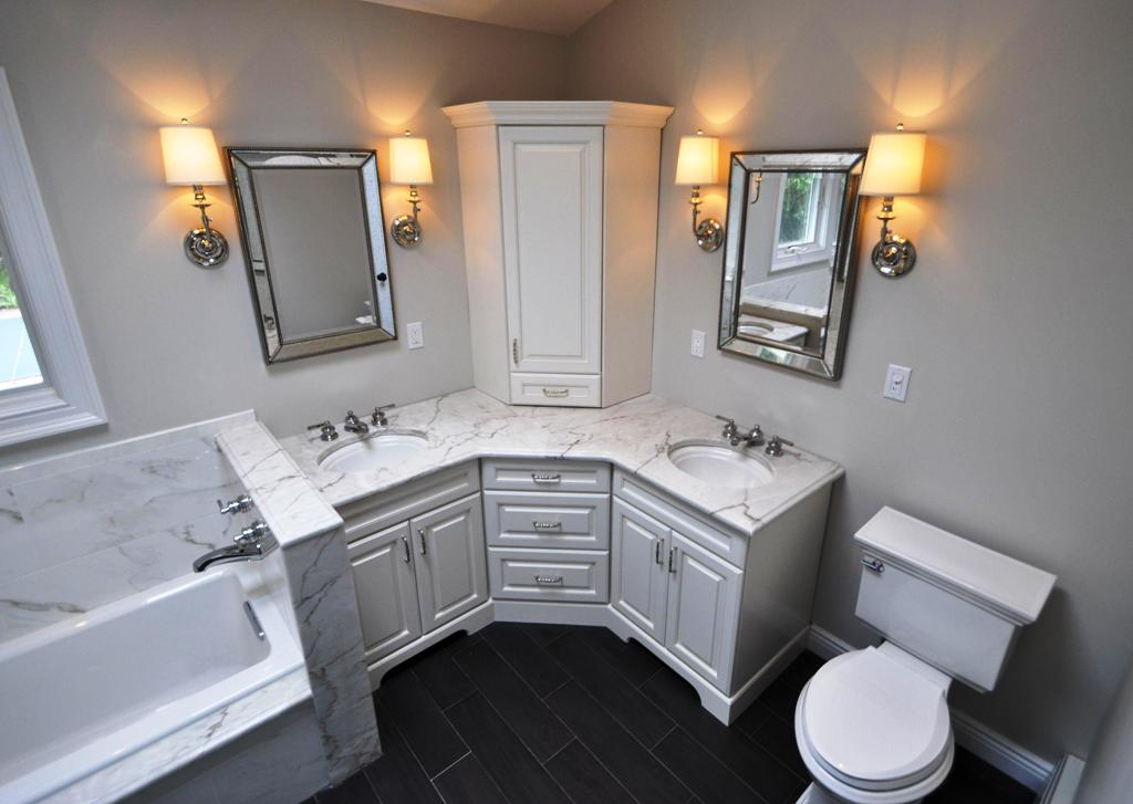 Corner Bathroom Vanity Ideas