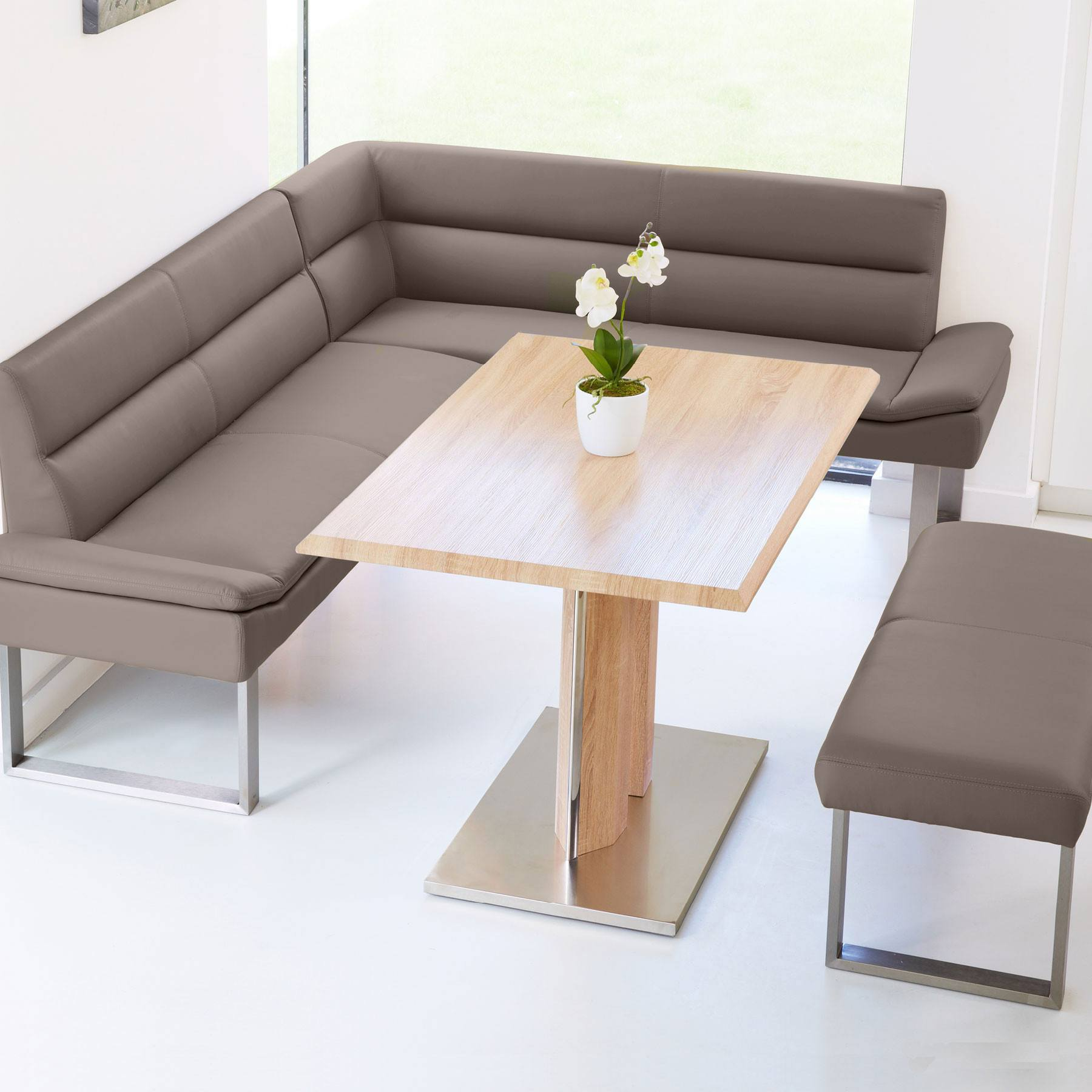 Corner Bench Dining Set · Zoom · click · click · click
