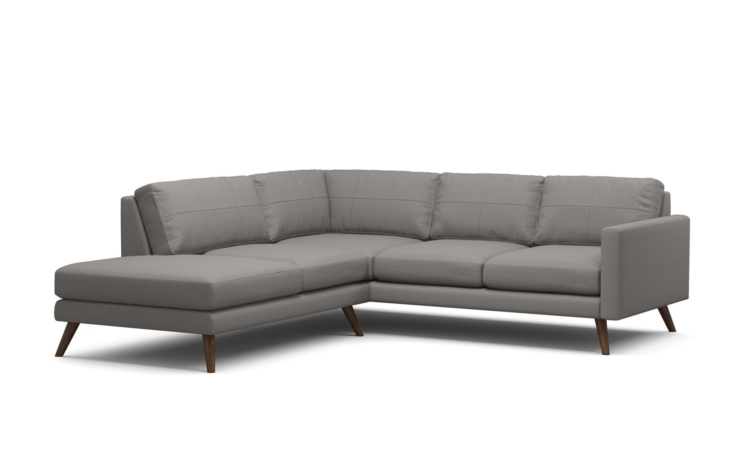 Dane Corner Sectional Sofa With Bumper