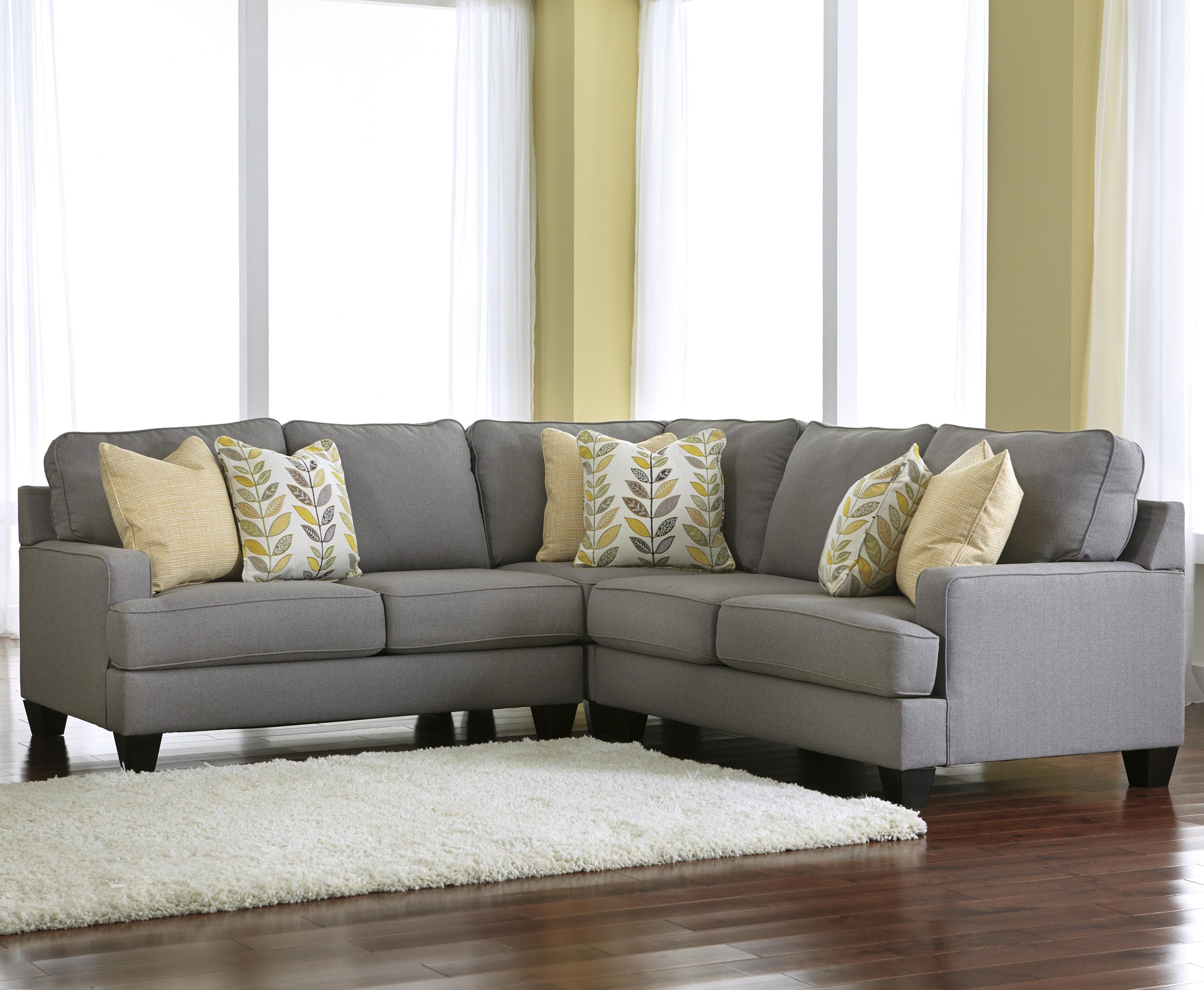 3-Piece Corner Sectional Sofa